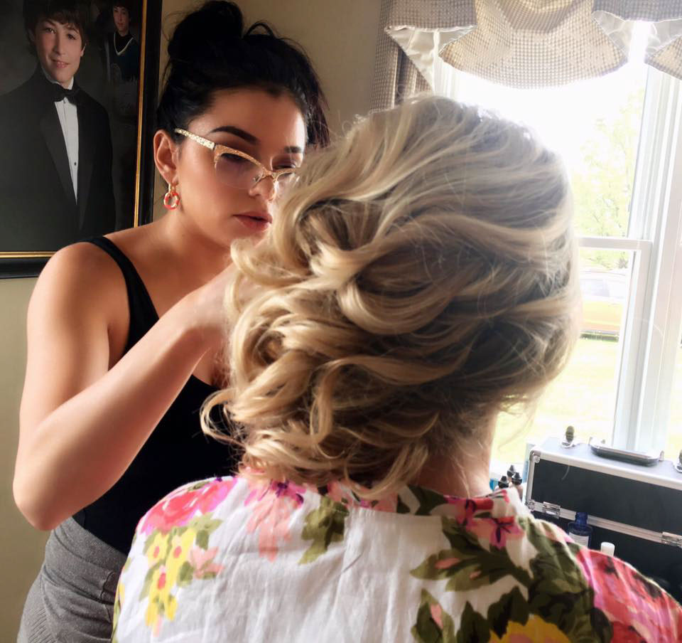 Bridal Hair Styling Doylestown PA